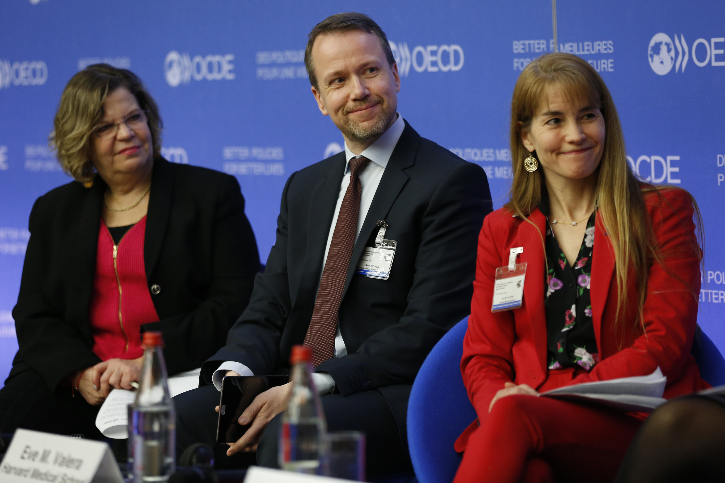 Dr. Valera Speaks at OECD High-Level Conference on Ending Violence Against Women